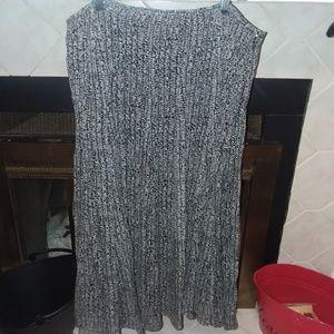 Jones New York Collection silk skirt sz 16